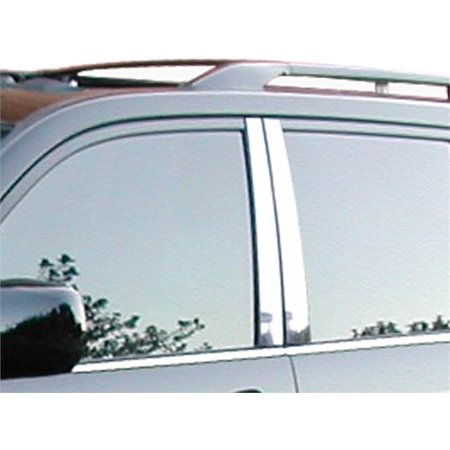 Fits 2003-2009  LEXUS GX470 4-door, SUV -Stainless Steel Pillars