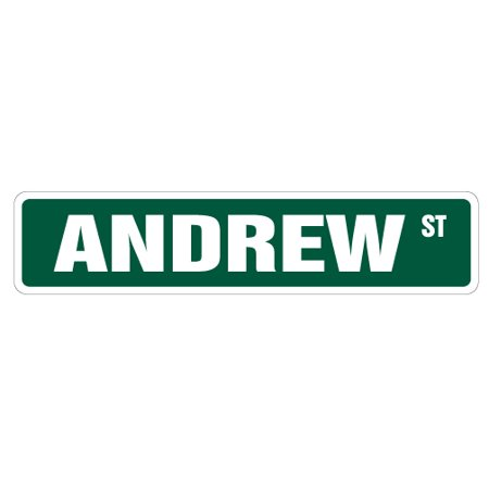Andrew Street 3 Pack of Vinyl Decal Stickers Indoor Outdoor Funny deco