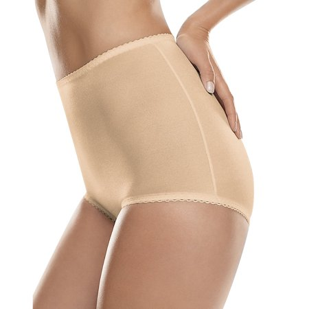 Womens All-Over Shaping Moderate Control Brief ( 2-pack )