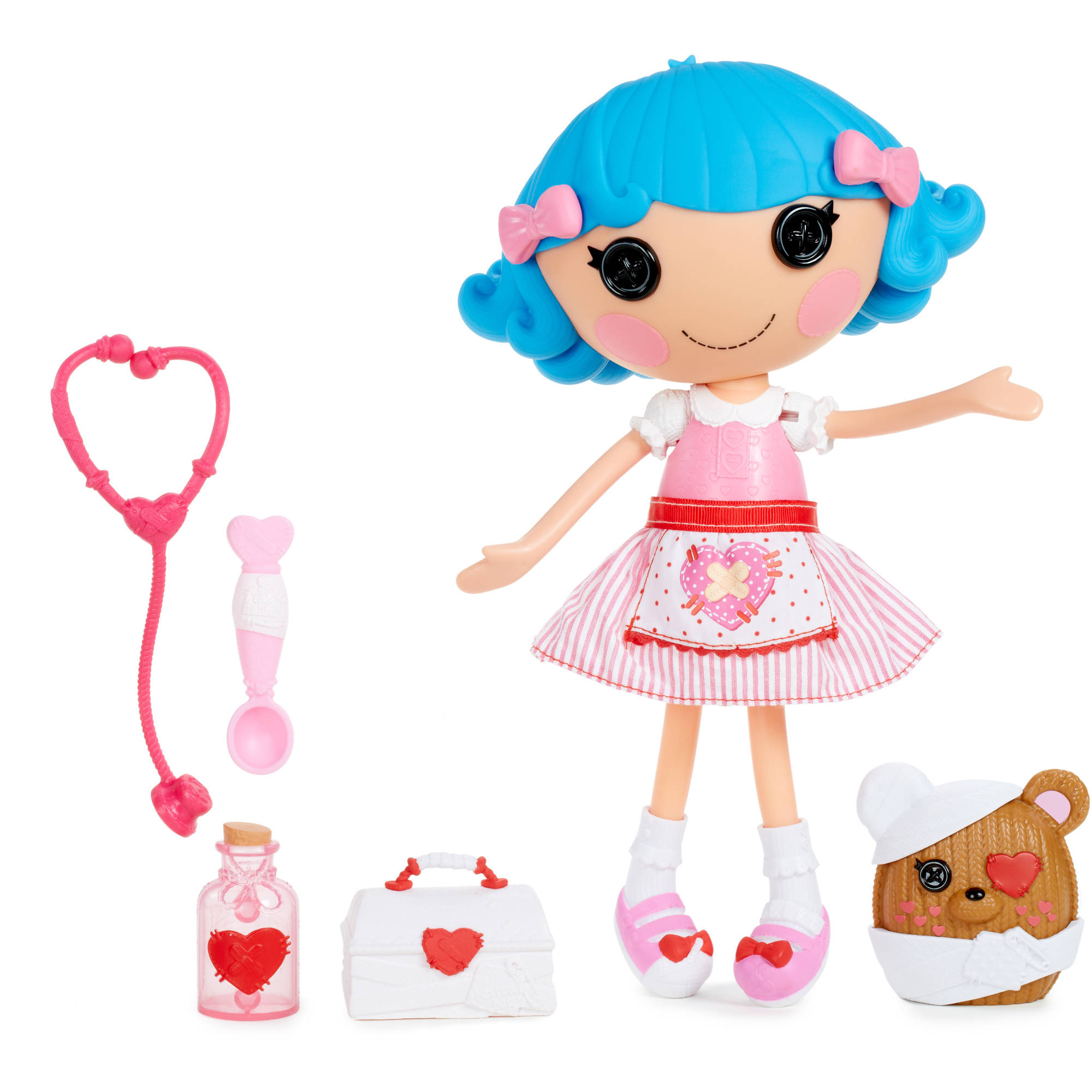 Lalaloopsy Large Doll with Accessories, Rosy Bumps 'N' Bruises