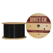 LOOS GC09477M1NB Cable,250 ft,Black Nylon,3/32 in,184 lb G2414609