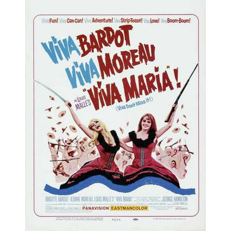 Viva Maria! POSTER Movie (27x40) - Maria Brink Halloween