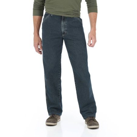 Five Pocket Straight Leg Jeans (Wrangler Men's Straight Leg Carpenter)