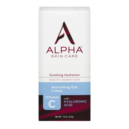 Alpha Skin Care Nourishing Eye Cream Soothing Hydration 0.75 OZ