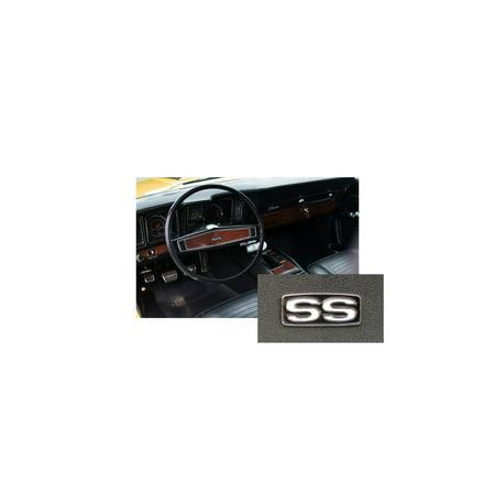 Eckler's Premier  Products 33-179274 Camaro SS Steering Wheel Emblem, Camaro Ss Wheel Emblems