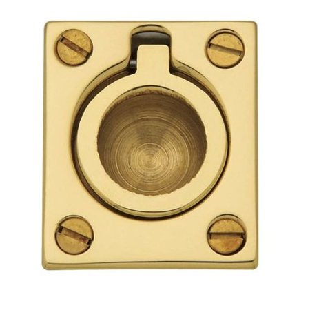 Contemporary Flush Pull - Baldwin Flush Ring Pull