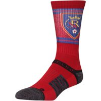 Real Salt Lake Exclusive Crew Socks - Red - OSFA