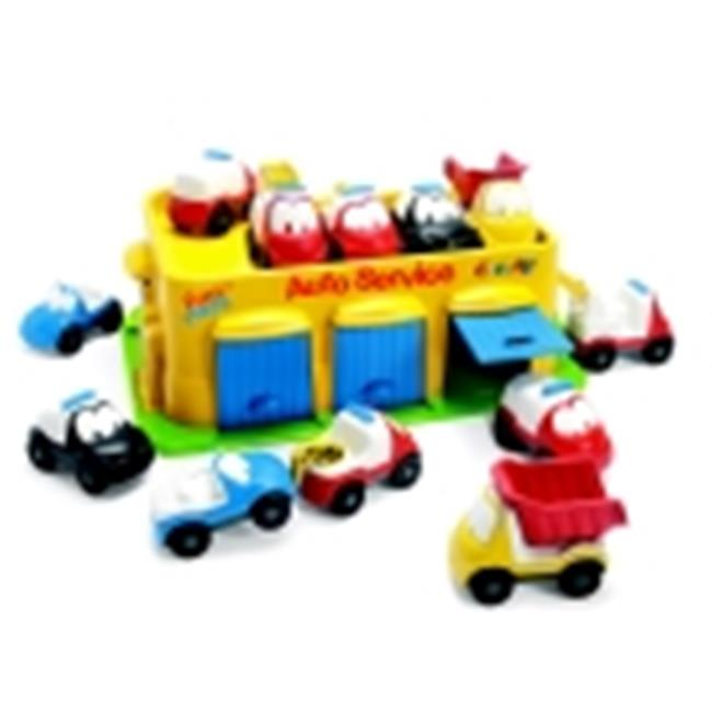 Dantoy Fun Car Set With Garage