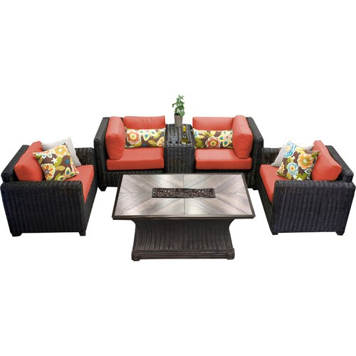 Sol 72 Outdoor Fairfield 6 Piece Sofa Seating Group with Cushions