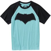 DC Comics Boys Raglan Sleeve Graphic Tee