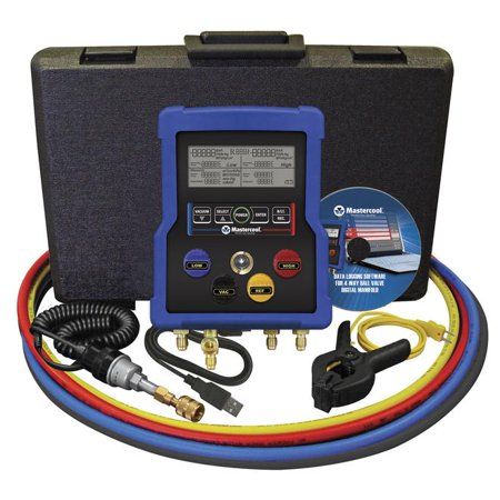 Mastercool 99972 HVAC 4-Way Digital Manifold Gauge