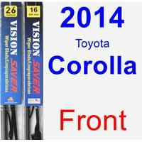 2014 Toyota Corolla Wiper Blade Set/Kit (Front) (2 Blades) - Vision Saver