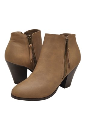 f8ce51b49131 Product Image City Classified Keira-S Women s Chunky Heel Ankle Booties
