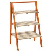 Evergreen Enterprises 3-Tier Mango Wood Planter Stand
