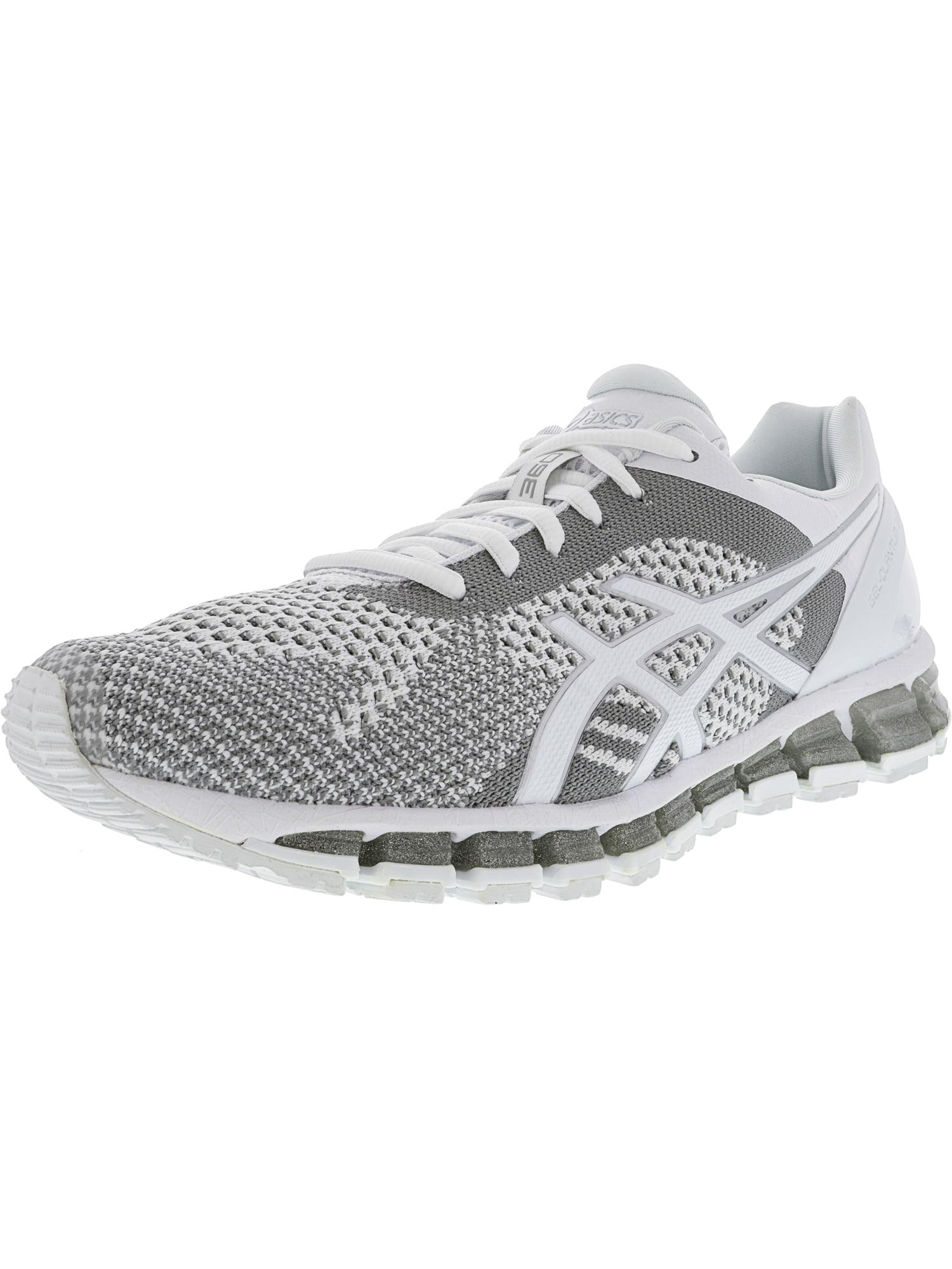 Asics Women's Gel-Quantum 360 White / Snow Silver Ankle-High Running Shoe - 9M