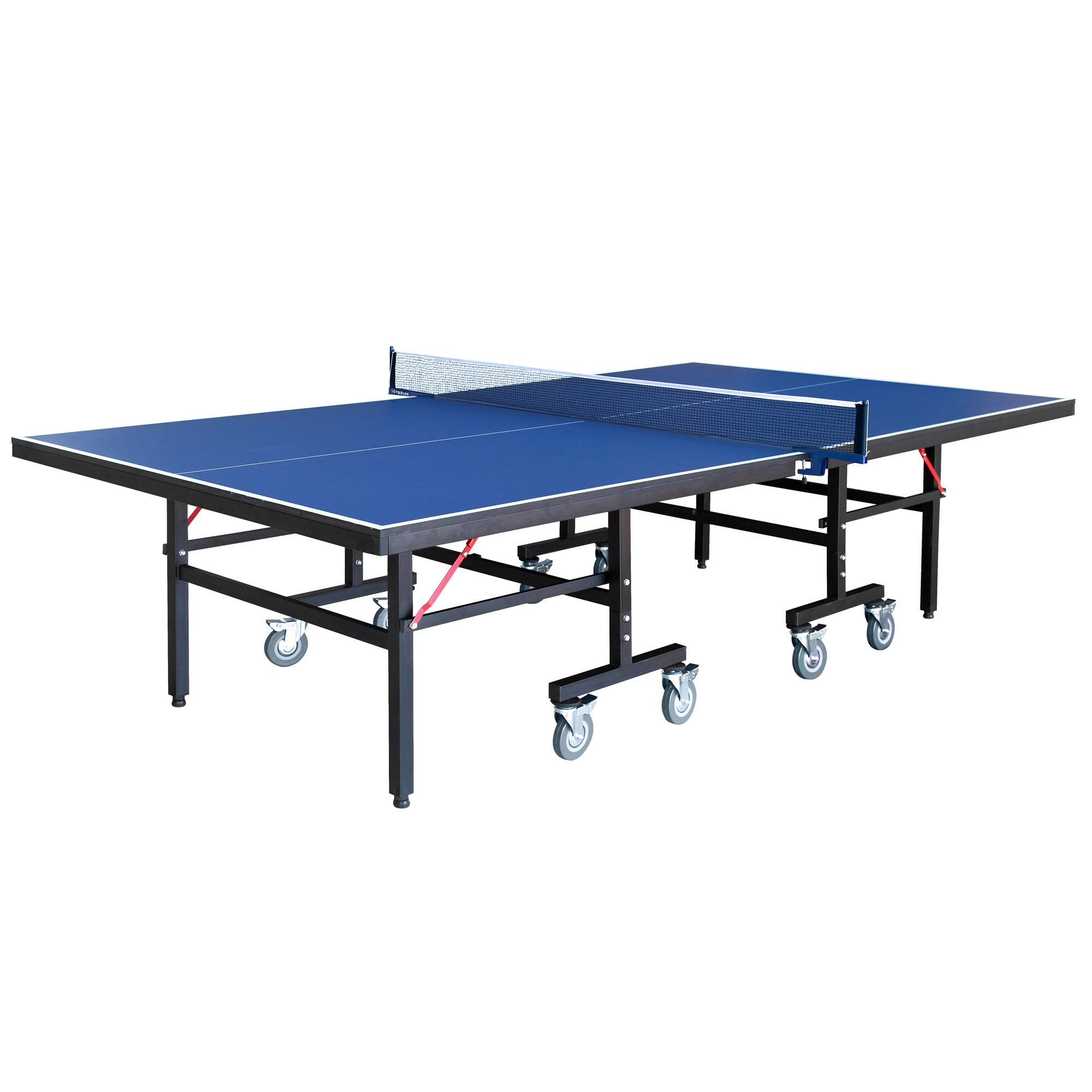 Hathaway Back Stop Table Tennis, 9-Foot, Blue