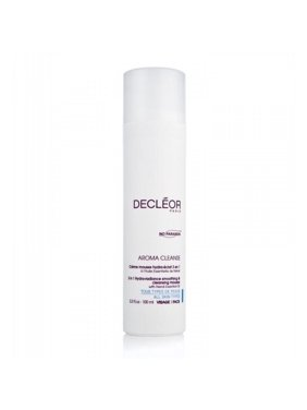 Decleor Aroma Cleanse 3-in-1 Hydra-Radiance Smoothing & Cleansing Facial Mousse, 3.3 Fl Oz