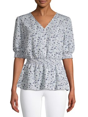 Women's Button Smock Top