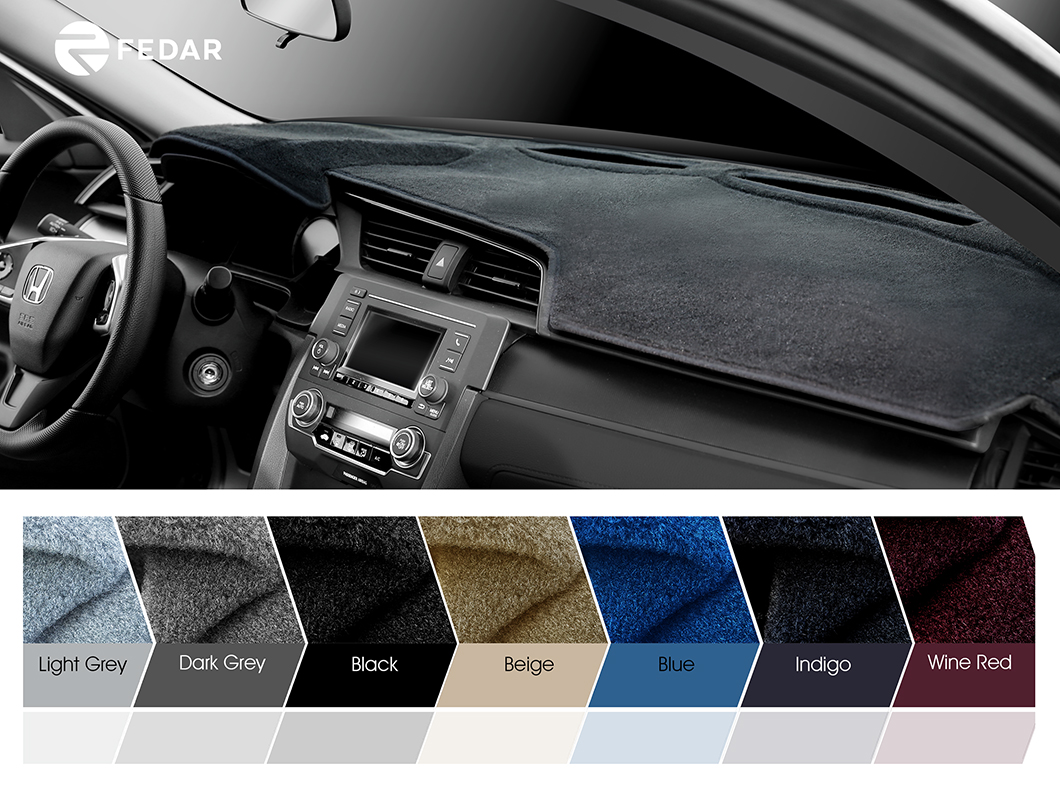 Chevrolet Pickup Truck 1995-1996 Carpet Dash Board Cover Mat Grey
