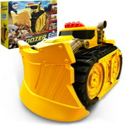 Xtreme Power Dozer - Motorized Extreme Bulldozer Toy Truck for Toddler Boys & Kids Who Love Construction ToysPlow Through Dirt, Toys, Wood, Rocks-Indoor & Outdoor Play-Spring Summer Fall Winter