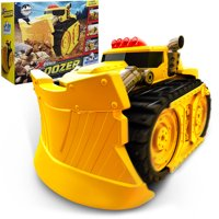 Xtreme Power Dozer  Motorized Toy Truck That Plows Through Dirt, Toys, Wood & Rocks  For Indoor & Outdoor Play