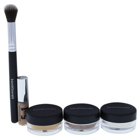 Eye Club Bare Basics Eyecolor Collection by bareMinerals for Women - 5 Pc Set 0.03oz 5-In-1 BB Advan - image 1 of 1