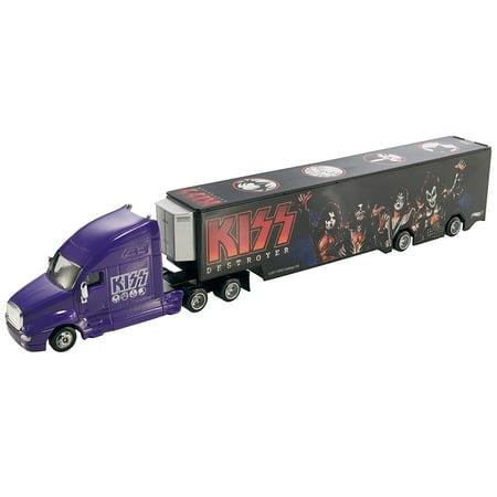 Hot Wheels Tour Haulers KISS Destroyer Truck & Trailer Vehicle -