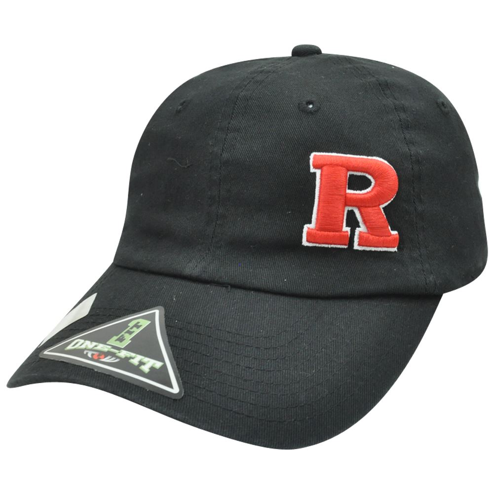 NCAA Rutgers Scarlet Knights Garment Wash Flex Fit One Fit Top of the World Hat