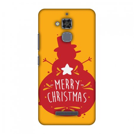 Asus ZenFone 3 Max ZC520TL Case - Very Merry Christmas, Hard Plastic Back Cover. Slim Profile Cute Printed Designer Snap on Case with Screen Cleaning Kit ()
