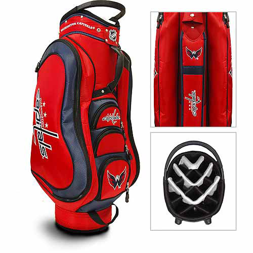 Team Golf NHL Washington Capitals Medalist Golf Cart Bag