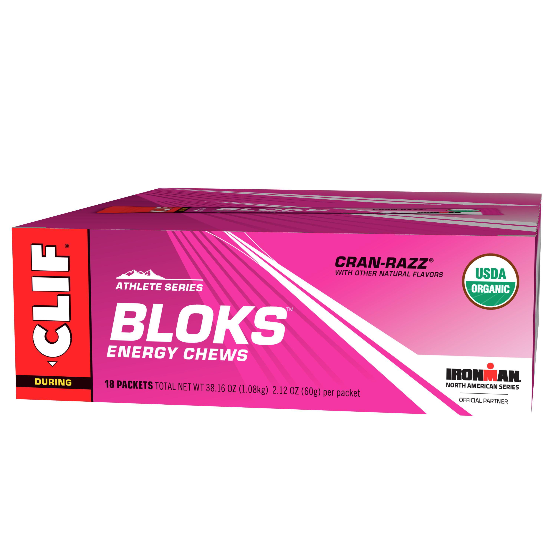 Clif® Athlete Series Bloks™ Cran-Razz® Energy Chews 18-2.12 oz. Wrappers