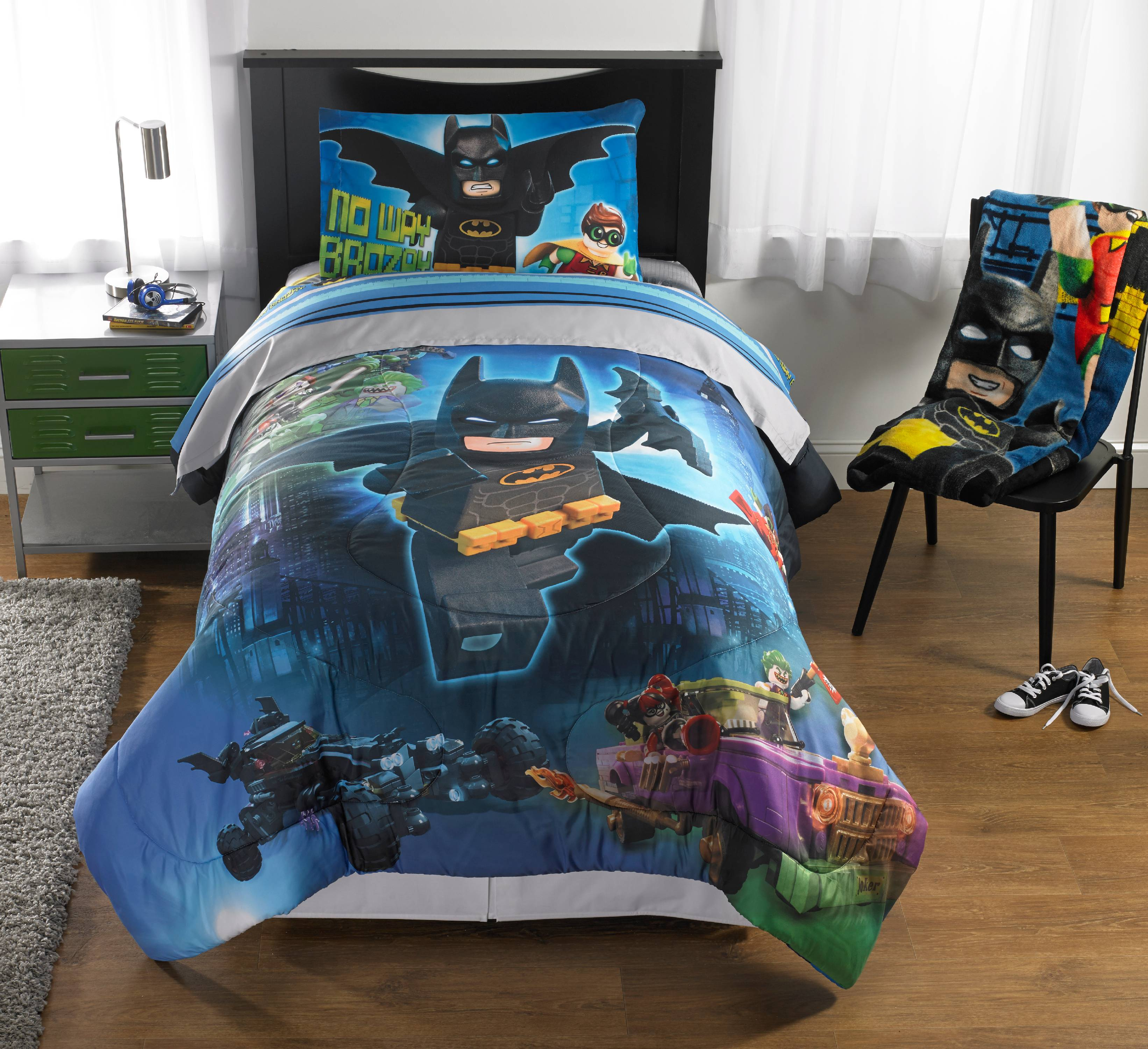 "Lego Batman ""No Way Brozay"" Bed in a Bag Bedding Set by Franco Manufacturing"