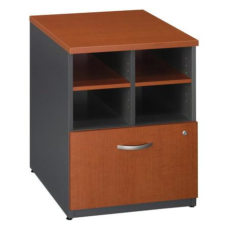 Office Furniture Series C Classic Shell Desk Design 56 lbs Capacity Engineered Wood Auburn Maple 24 W Piler Filer Cabinet