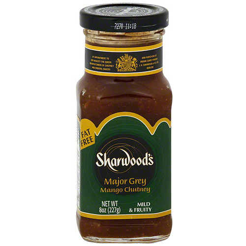 Sharwood's Major Grey Mango Chutney, 8 oz (Pack of 6)