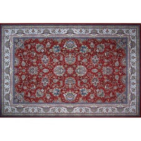 - Astoria Grand Merrell Hand Look Persian Wool Red/Green/Blue Area Rug