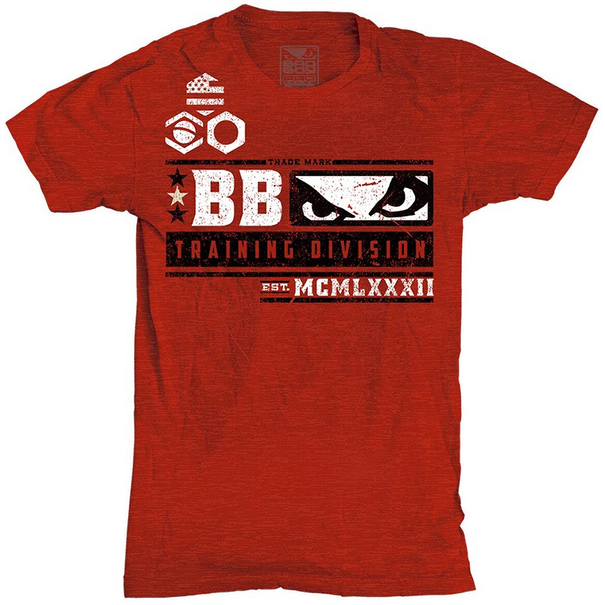 Bad Boy Youth Training Division T-Shirt - Red