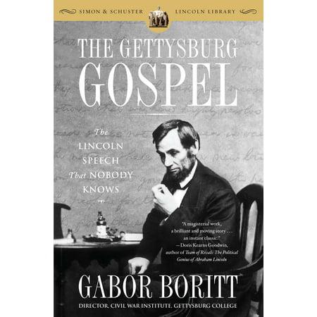 The Gettysburg Gospel : The Lincoln Speech That Nobody (Best Director Acceptance Speech)