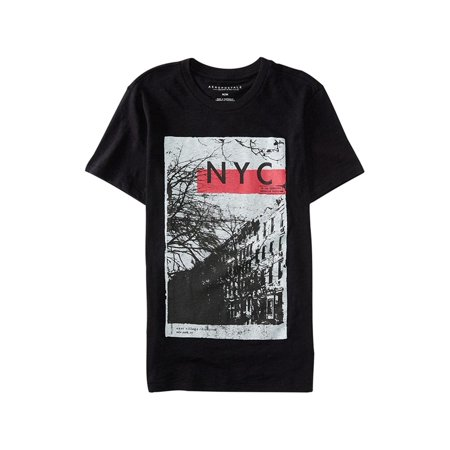 Aeropostale Mens Nyc East Village Graphic T-Shirt 001 S ()