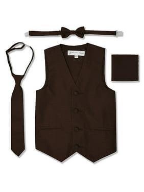 Johnnie Lene Boys Formal Dupioni Tuxedo Vest Set JL34