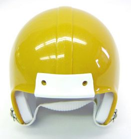 Mini Football Helmet Shell - Sunflower Gold Metal Flake