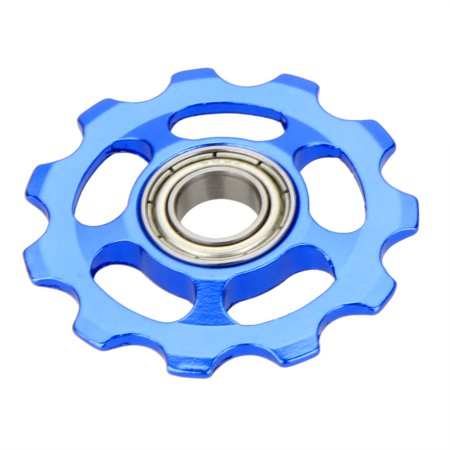 - MTB Mountain Bike Road Bicycle Rear Derailleur Aluminum Alloy 11T Guide Roller Idler Pulley Jockey Wheel Part Accessory