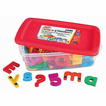 School Smart Jumbo Magnetic Letters and Numbers, 100pk](Jumbo Letters)