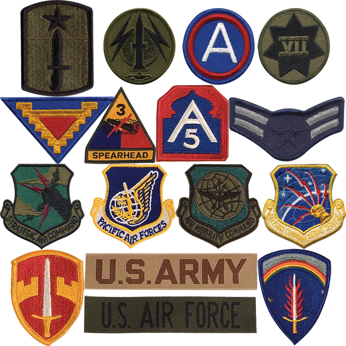Military Army Patches Assortment 100 Patches