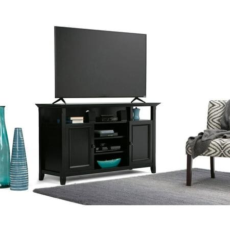 Brooklyn + Max Washington Collection Black TV Media Stand