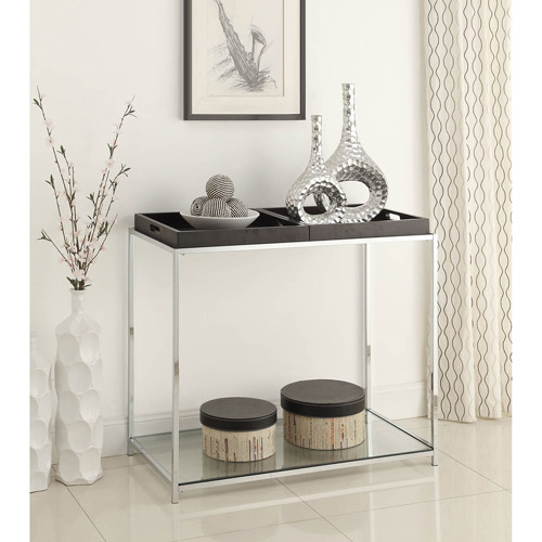 Convenience Concepts Palm Beach Console Table with Trays, Multiple Colors by Generic