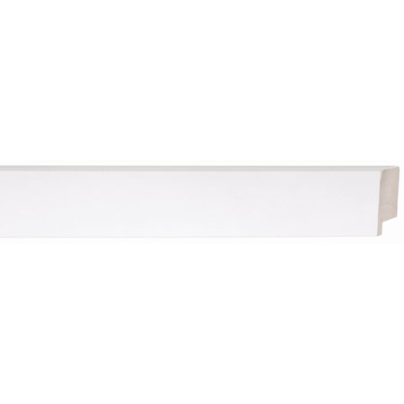 Picture Frame Moulding (Wood) - Contemporary White Finish - 1.625 ...