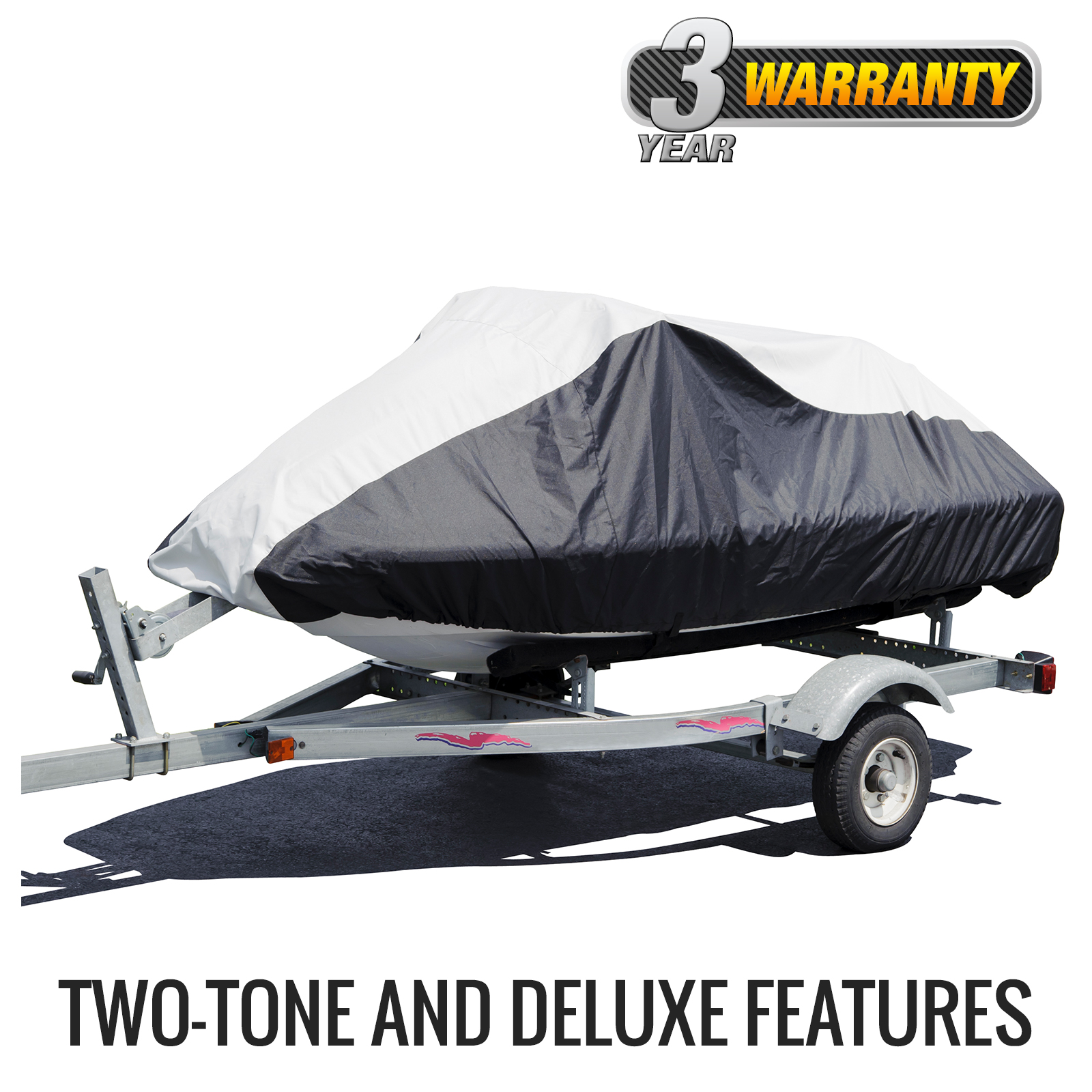 "Budge Deluxe 2 Stroke Jet Ski Cover, Size PW-2: 116"" to 135"" 2-Stroke by Budge Industries"