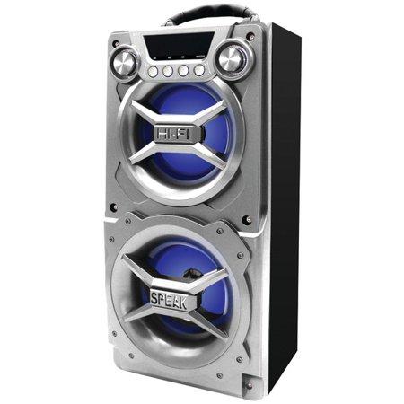 SYLVANIA SP328-SILVER Bluetooth Speaker with Speakerphone (Silver) - image 1 de 1