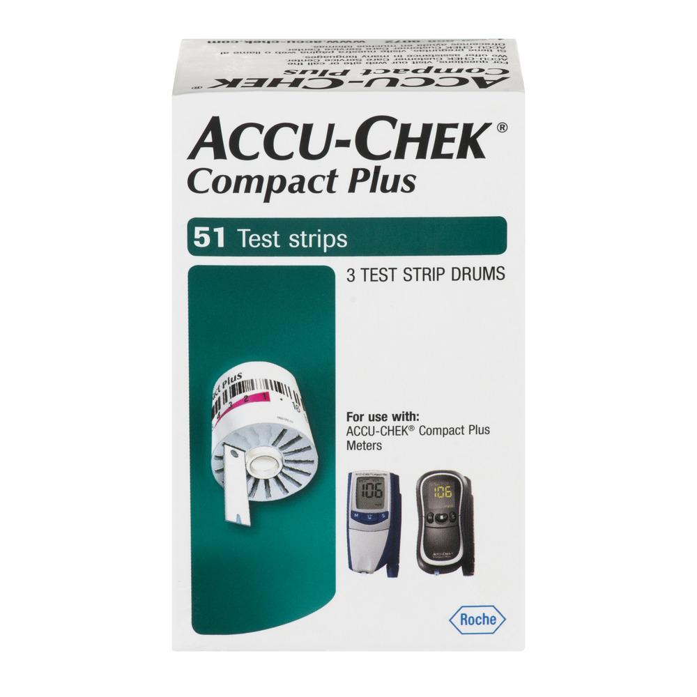 Accu Chek Compact Plus Test Strips