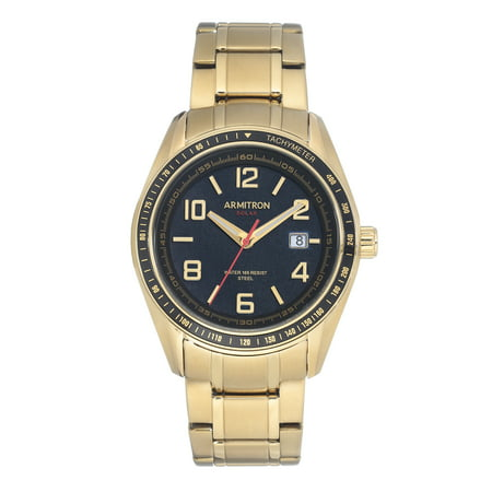 Mens Dress Gold SOLAR Watch (Solar Gents Watch)